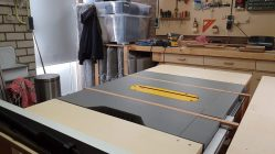 Table saw runners